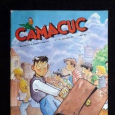 Cómics: CAMACUC. REVISTA PER A XIQUETS I XIQUETES. Nº 80, SETEMBRE 1992. Lote 253082975