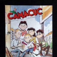 Cómics: CAMACUC. REVISTA PER A XIQUETS I XIQUETES. Nº 82, NOVEMBRE 1992. Lote 253083320