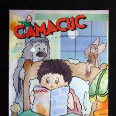Cómics: CAMACUC. REVISTA PER A XIQUETS I XIQUETES. Nº 86, MAIG 1993. Lote 253083730