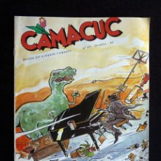 Cómics: CAMACUC. REVISTA PER A XIQUETS I XIQUETES. Nº 89, OCTUBRE 1993. Lote 253084395