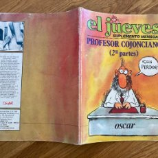 Comics: ¡¡LIQUIDACION COMIC 2 EUROS!! PEDIDO MINIMO 5 EUROS - PROFESOR COJONCIANO (2ª) / EL JUEVES - GCH. Lote 253087680