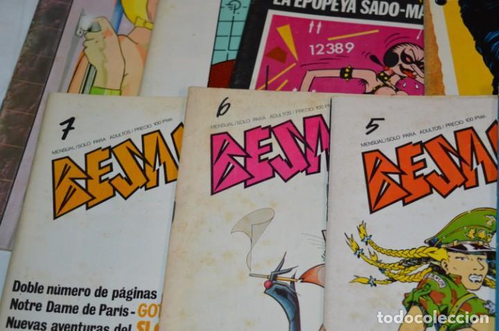 Cómics: 12 Revistas / BÉSAME MUCHO / Primeros núm. Del 01 al 13 / Producciones Editoriales / Años 80 ¡Mira! - Foto 3 - 253089625