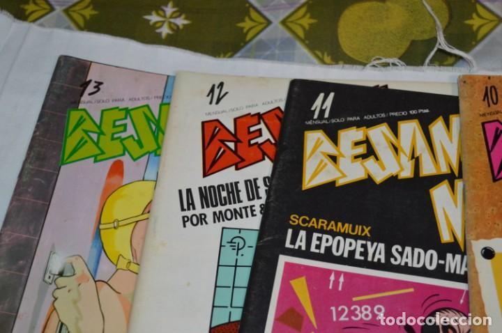 Cómics: 12 Revistas / BÉSAME MUCHO / Primeros núm. Del 01 al 13 / Producciones Editoriales / Años 80 ¡Mira! - Foto 5 - 253089625