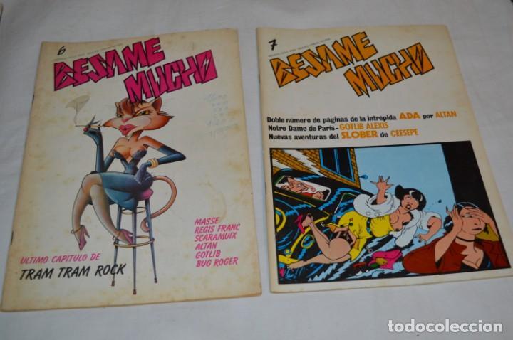 Cómics: 12 Revistas / BÉSAME MUCHO / Primeros núm. Del 01 al 13 / Producciones Editoriales / Años 80 ¡Mira! - Foto 8 - 253089625