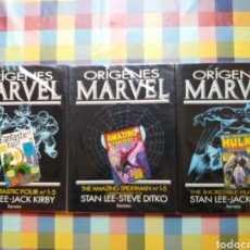 Comics: ORIGENES MARVEL VOL. 1, 3, 5 -FORUM-. (RESERVADO). Lote 253128100