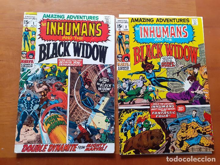 Cómics: Amazing Adventures. Volumen 2. Colección completa. - Foto 2 - 147158146