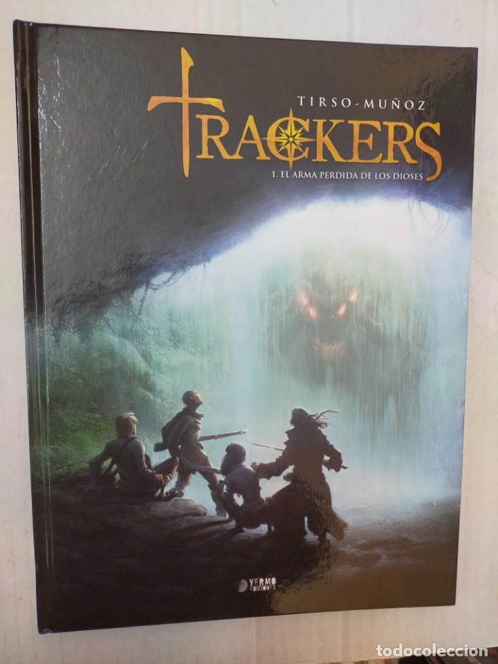 TRACKERS 1: EL ARMA PERDIDA DE LOS DIOSES, DE TIRSO CONS Y DAVID MUÑOZ (Tebeos y Comics - Comics otras Editoriales Actuales)