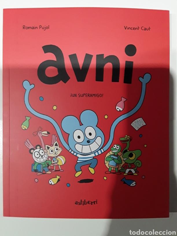 AVNI ¡UN SUPERAMIGO! - ROMAIN PUJOL, VINCENT CAUT - ASTIBERRI (Tebeos y Comics - Comics otras Editoriales Actuales)