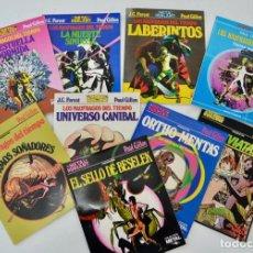 Cómics: LOTE 9 COMICS. LOS NÁUFRAGOS DEL TIEMPO. J.C. FOREST Y PAUL GILLON. METAL HURLANT.EUROCOMIC. 1982-85. Lote 253526420