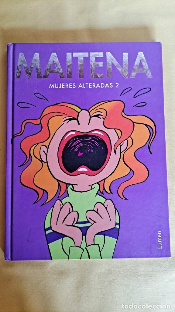 Cómics: MAITENA, MUJERES ALTERADAS - LOTE 5 LIBROS + CURVAS PELIGROSA 1 Y 2 - EDITORIAL LUMEN 2003 - Foto 4 - 253538150