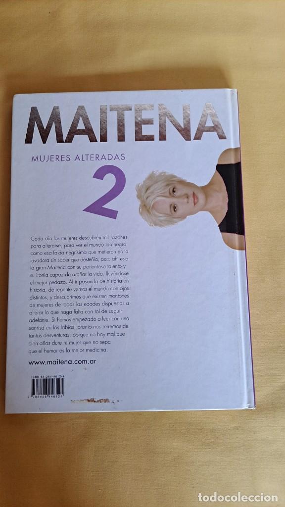 Cómics: MAITENA, MUJERES ALTERADAS - LOTE 5 LIBROS + CURVAS PELIGROSA 1 Y 2 - EDITORIAL LUMEN 2003 - Foto 5 - 253538150