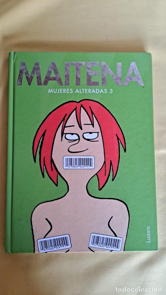 Cómics: MAITENA, MUJERES ALTERADAS - LOTE 5 LIBROS + CURVAS PELIGROSA 1 Y 2 - EDITORIAL LUMEN 2003 - Foto 6 - 253538150