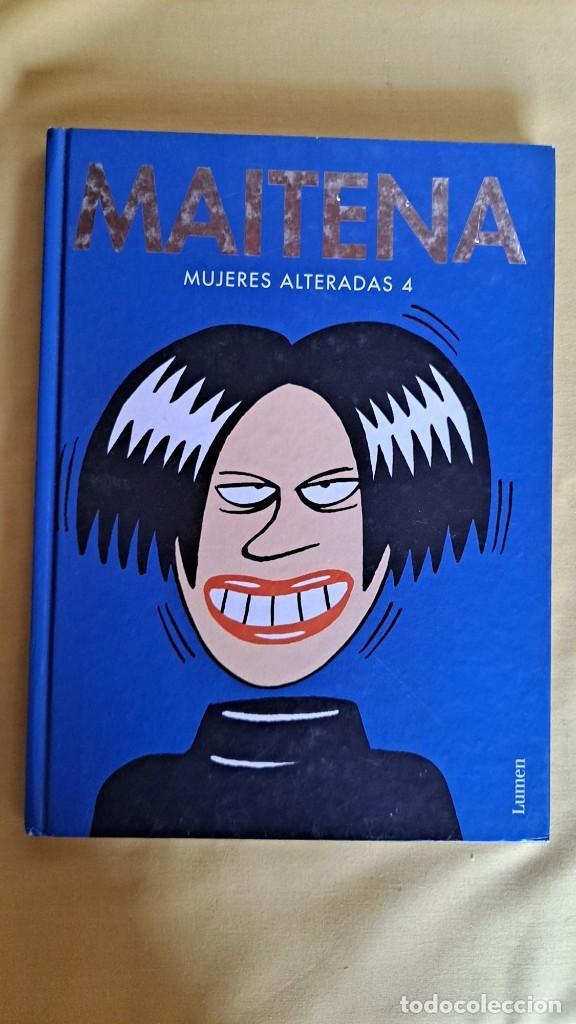 Cómics: MAITENA, MUJERES ALTERADAS - LOTE 5 LIBROS + CURVAS PELIGROSA 1 Y 2 - EDITORIAL LUMEN 2003 - Foto 8 - 253538150
