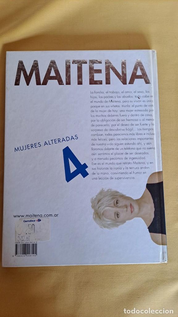 Cómics: MAITENA, MUJERES ALTERADAS - LOTE 5 LIBROS + CURVAS PELIGROSA 1 Y 2 - EDITORIAL LUMEN 2003 - Foto 9 - 253538150