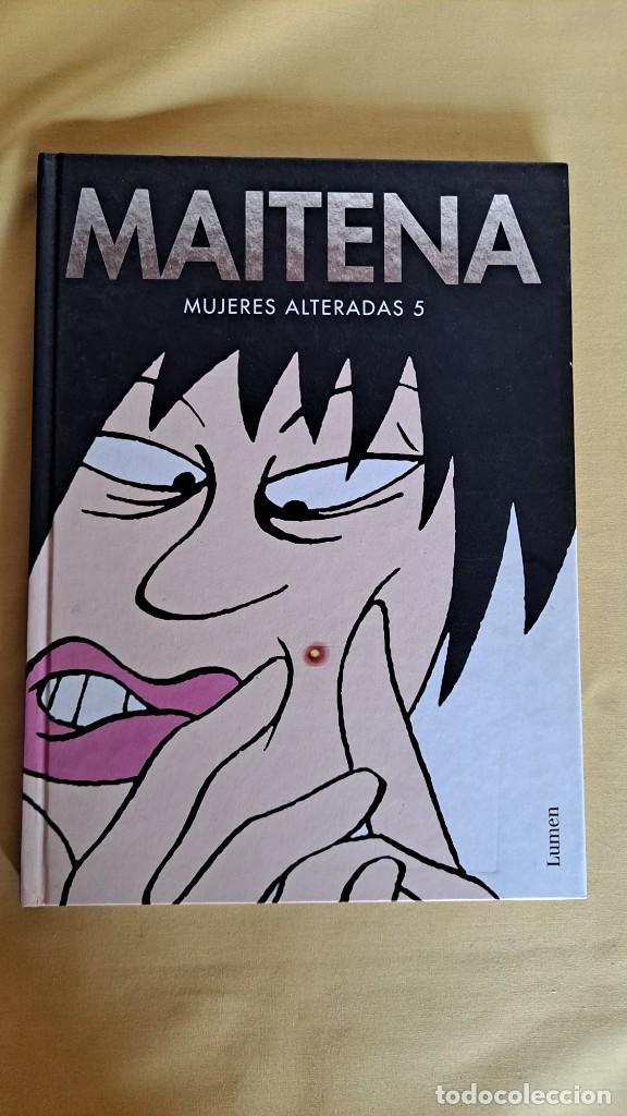 Cómics: MAITENA, MUJERES ALTERADAS - LOTE 5 LIBROS + CURVAS PELIGROSA 1 Y 2 - EDITORIAL LUMEN 2003 - Foto 10 - 253538150