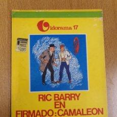 Cómics: VIDORAMA 17 , RIC BARRY EN FIRMADO: CAMALEÓN. Lote 253619540