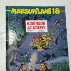 Cómics: MARSUPILAMI 18 , ROBINSON ACADEMY , FRANCÉS. Lote 253647180