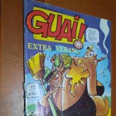 Fumetti: GUAI 107 EXTRA DE VERANO. GRAPA. BUEN ESTADO. HUMOR. Lote 253749925