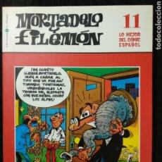 Cómics: MORTADELO Y FILEMÓN. LO MEJOR DEL CÓMIC ESPAÑOL 11. Lote 253818005