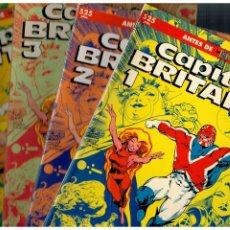 Comics : CAPITÁN BRITANIA. TOMOS 1 AL 4. COMPLETA. FORUM. EXCELENTE.. Lote 253888310