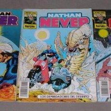 Cómics: TRES COMICS DE NATHAN NEVER. Lote 254119065
