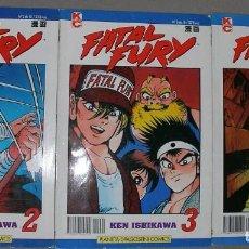 Cómics: TRES COMICS DE FATAL FURY. Lote 254120330