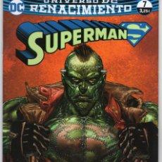 Cómics: SUPERMAN Nº 62 RENACIMIENTO Nº 7 - ECC - MUY BUEN ESTADO. Lote 254353700