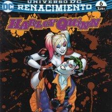 Cómics: HARLEY QUINN Nº 14 RENACIMIENTO Nº 6 - ECC - IMPECABLE. Lote 254356435
