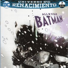 Cómics: ALL STAR BATMAN: RENACIMIENTO Nº 7 - ECC - IMPECABLE. Lote 254357625