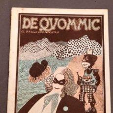 Cómics: DE QUOMMIC - EL RROLLO ARISTÓCRATA - FANZINE UNDERGROUND 1974. Lote 254536930