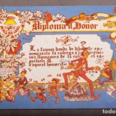 Cómics: DIPLOMA D'HONOR - SISA - MONTESOL - NAZARIO - MARISCAL - EL FARRY - 1974 - COMIC UNDERGROUND. Lote 254537260