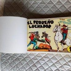 Cómics: EL PEQUEÑO LUCHADOR.COLECCION COMPLETA DE 14 TEBEOS.EN UN TOMO.IBERCOMIC. Lote 254590240