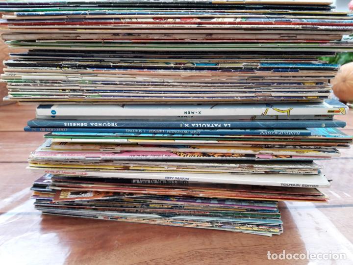LOTE DE 100 COMICS. VARIADO, PRINCIPALMENTE SUPER HÉROES (Tebeos y Comics - Comics Pequeños Lotes de Conjunto)