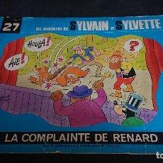 Cómics: TEBEO , LAS AVENTURES DE SYLVAIN ET SYLVETTE Nº 27 1983 , EN FRANCES , LEER DESCRIPCION. Lote 254675370