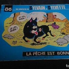 Cómics: TEBEO , LAS AVENTURES DE SYLVAIN ET SYLVETTE Nº 86 1983 , EN FRANCES , LEER DESCRIPCION. Lote 254675735
