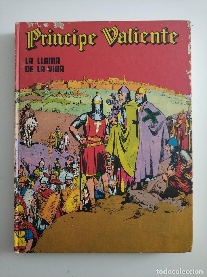 PRINCIPE VALIENTE - LA LLAMA DE LA VIDA - NUMERO 4 - BURU LAN - AÑOS 70 (Tebeos y Comics - Buru-Lan - Principe Valiente)