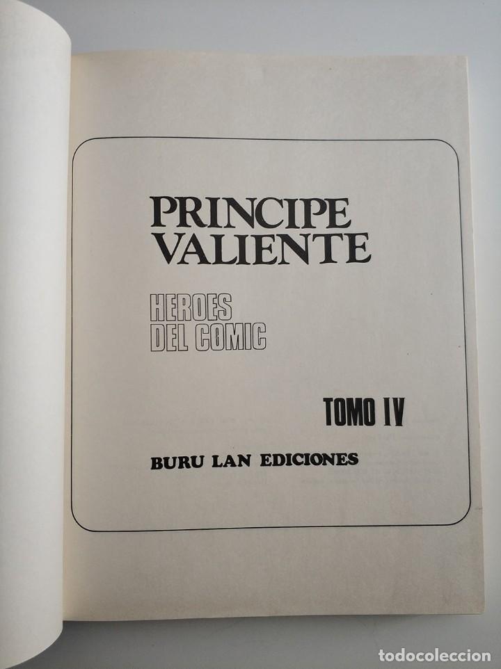 Cómics: Principe Valiente - La Llama De La Vida - Numero 4 - Buru Lan - años 70 - Foto 2 - 254904480
