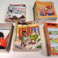Cómics: IPURBELTZ. LOTE DE 251 EJEMPLARES. EDITORIAL EREIN DESDE 1978.. Lote 175687815