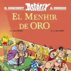 Cómics: ASTÉRIX Y OBÉLIX EL MENHIR DE ORO GOSCINNY, RENÉ SALVAT. COMIC NUEVO. INÉDITO. Lote 255473055