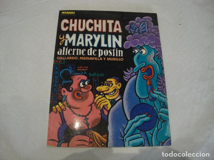 CHUCHITA Y MARYLIN ALTERNE DE POSTÍN COLECCION MAKOKI (Tebeos y Comics Pendientes de Clasificar)