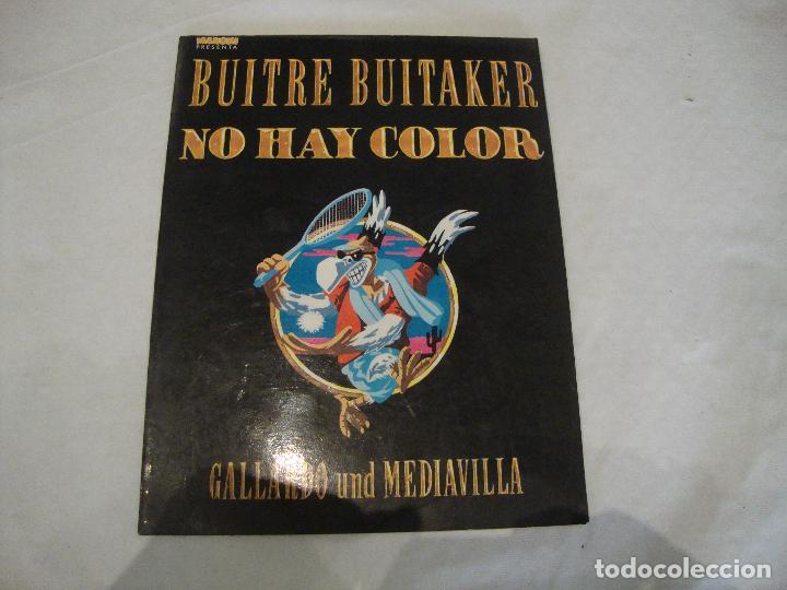 BUITRE BUITAKER NO HAY COLOR (Tebeos y Comics Pendientes de Clasificar)