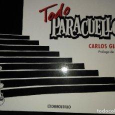 Cómics: TODO PARACUELLOS .CARLOS GIMENEZ. PROLOGO DE JUAN MARSÉ. Lote 255522535
