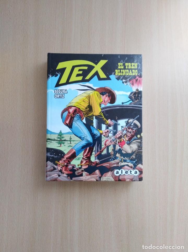 TEX. EL TREN BLINDADO. ANTONIO SEGURA /JOSÉ ORTÍZ. ALETA EDICIONES (Tebeos y Comics - Comics otras Editoriales Actuales)