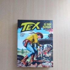 Cómics: TEX. EL TREN BLINDADO. ANTONIO SEGURA /JOSÉ ORTÍZ. ALETA EDICIONES. Lote 255522575