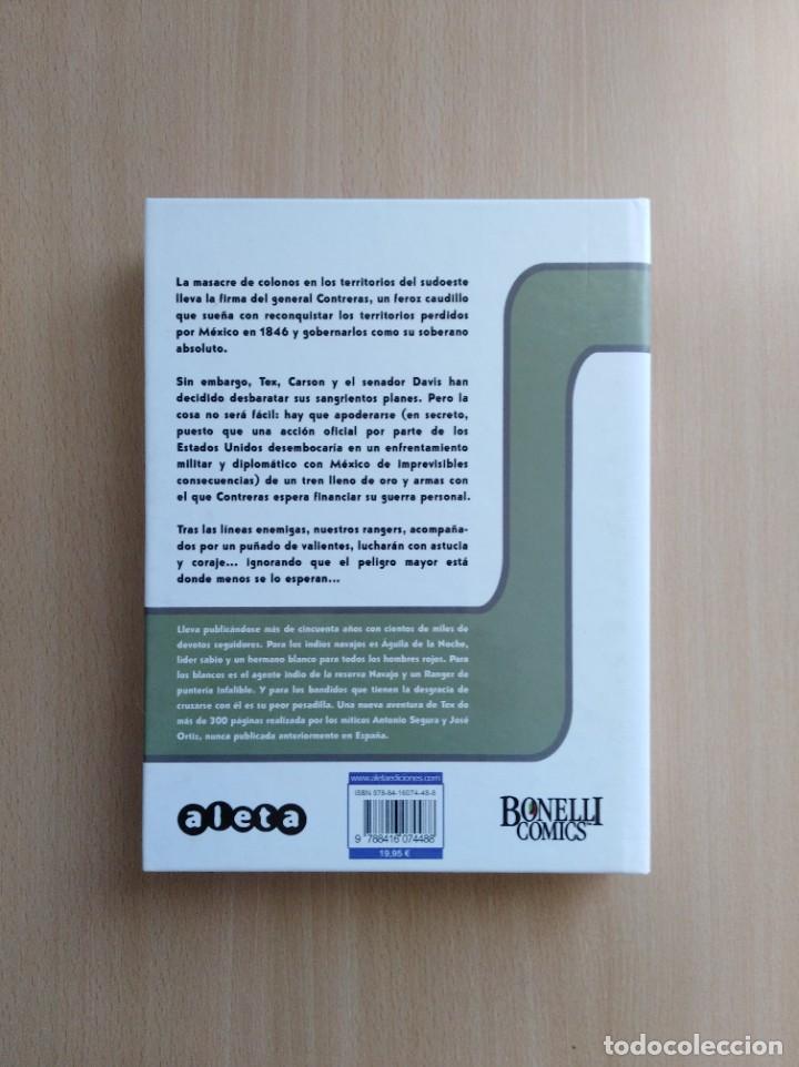 Cómics: TEX. EL TREN BLINDADO. Antonio Segura /José Ortíz. Aleta Ediciones - Foto 2 - 255522575