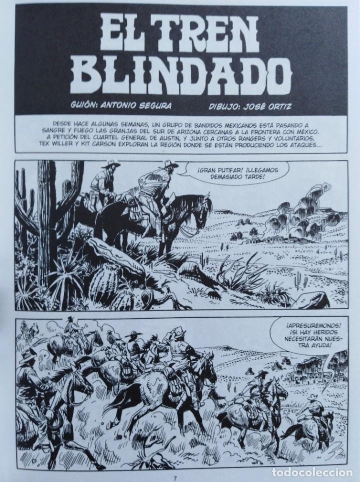 Cómics: TEX. EL TREN BLINDADO. Antonio Segura /José Ortíz. Aleta Ediciones - Foto 4 - 255522575