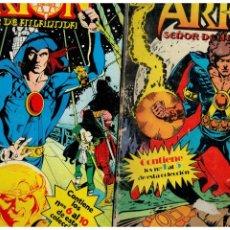 Cómics: ARION. COMPLETA 10 NÚMEROS 1 AL 10 EN 2 TOMOS RETAPADOS DE ZINCO.. Lote 255529085