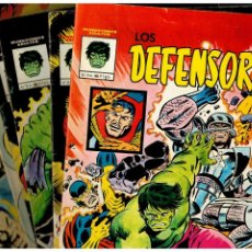 Cómics: LOS DEFENSORES. MUNDICOMICS. COMPLETA NÚMEROS 1 AL 7. VÉRTICE 1981. BUENOS.. Lote 255534910