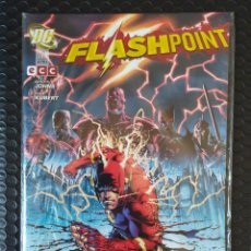 Cómics: DESCATALOGADO-FLASHPOINT Nº1 ( GEOFF JOHNS ANDY KUBERT )-ECC- DC-NUEVO(NM)-BOLSA & BACKBOARD. Lote 255947650