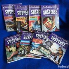 Cómics: CLÁSICOS DEL SUSPENSE 1 AL 8 ¡¡COMPLETA!! - BIBLIOTECA GRANDES DEL CÓMIC - MBE. Lote 256076685